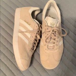 Adidas Gazelle Tan Suede Sneakers